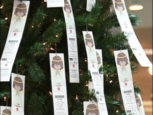 Salvation Army Angel Tree program