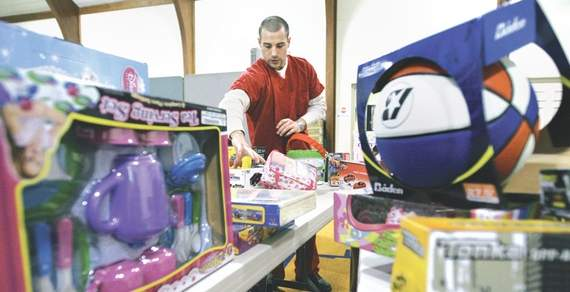 inmates salvation army holiday program
