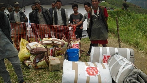 Relief Efforts Continue in Nepal