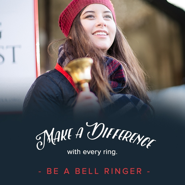 Salvation Army_BellRinger_MakeADifference